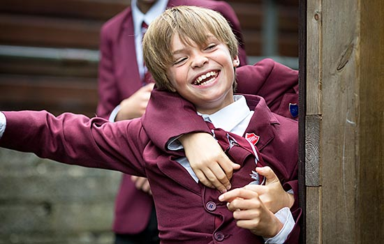 Fun and friendship at St Edward's Prep School for Boys