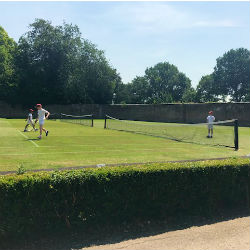 St Ed's play tennis at The Oratory