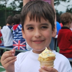 St. Edward's celebrate the Queen's 90th