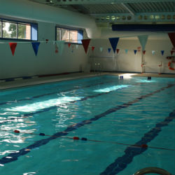 Our new swimming venue, The Oratory School
