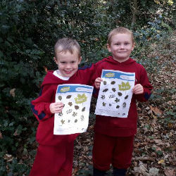 Year 1 trip to the woods