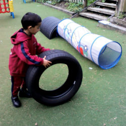 Physical development in EYFS