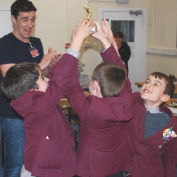 Author Tom Palmer Visits St Edward's Prep
