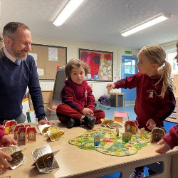 Shapes and structures with Little Griffins Nursery